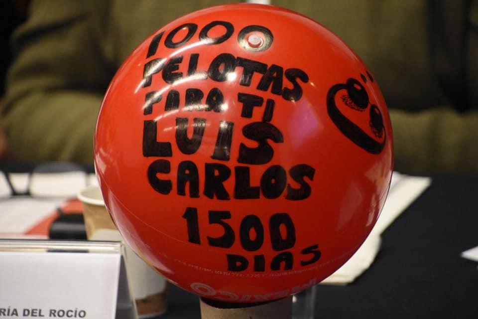 La pelota de Luis Carlos Maya en el Foro de #1000Pelotasparati